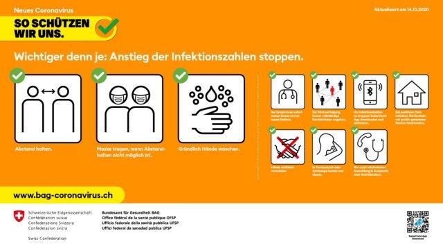 Coronavirus - So schützen wir uns - Downloads